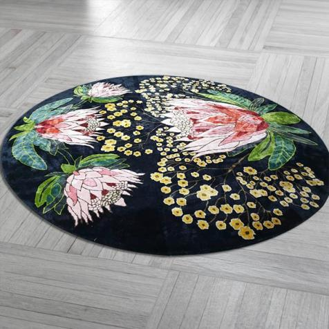 Round Rugs Manufacturers in Panna
