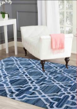 Beatuiful Blue Area Rugs Manufacturers in Shimoga