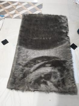 Black Woolen Furry Carpet Manufacturers in Phek