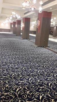 Blue Persian Floral Design Wall To Wall Rug Manufacturers in Uttar Pradesh