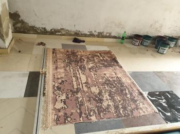 Brown Non Woven Floor Rug Manufacturers in Panipat