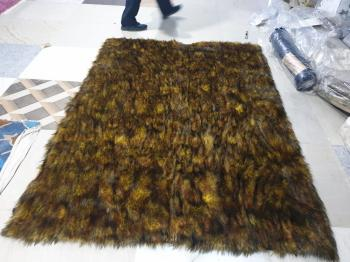 Chetah Design Fur Carpet Manufacturers in Uttar Pradesh