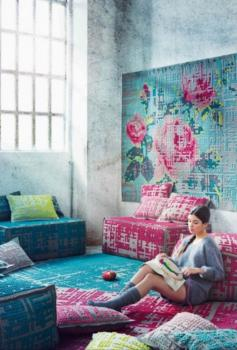 Cross Stitched Hand Woven Wall And Floor Rug Manufacturers in Nongthymmai