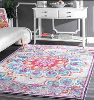 Floral Design Living Room Carpet Manufacturers in Ukhrul