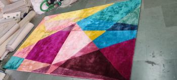 Patchwork Design Carpet And Rugs Manufacturers in Manipur