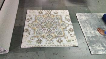 Retro Indian Design Woolen Carpet Manufacturers in Gulburga