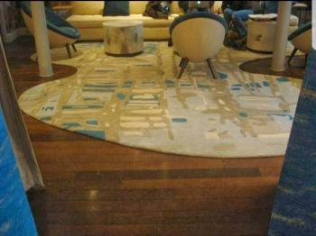 Spotted White Living Area Carpet Manufacturers in Ratlam